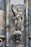 Statue aus der Haube heraus Lizenzfreie Stockfotografie