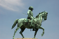 Statue of the Austrian Emperor royalty free stock image