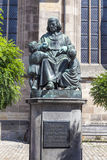 Statue of author Christoph vom Stock Images