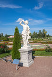 Statue of Autumn Royalty Free Stock Photography