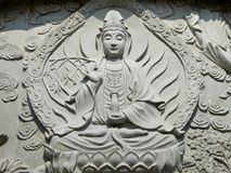Statue of Avalokitesvara Royalty Free Stock Photos