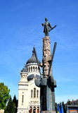 Statue of Avram Iancu in Cluj Napoca Stock Photos