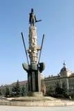 Statue of Avram Iancu. Cluj-Napoca, Romania Stock Image