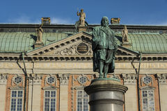 Statue of Axel Oxenstierna Sweden Royalty Free Stock Image
