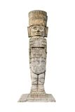 Statue aztèque antique Photo stock