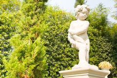 Statue baby. My Statue of baby boy Stock Image