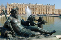 Statue of Bacco in Versailles Royalty Free Stock Photography