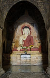Statue Bagan Buddha, Myanmar Lizenzfreie Stockfotos