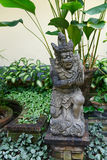 Statue of Bali protecting god Stock Photo