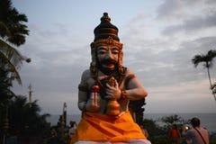 Statue of Bali protecting god Royalty Free Stock Photos