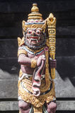 Statue in bali temple indonesia Royalty Free Stock Photos