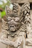 Statue of Balinese demon Royalty Free Stock Image