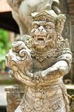 Statue of Balinese demon Royalty Free Stock Photos