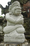 Statue of Balinese demon, Indonesia Royalty Free Stock Image