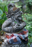 Statue of Balinese demon Royalty Free Stock Images
