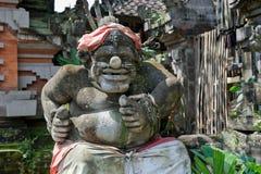 Statue of Balinese demon in Ubud Stock Photography