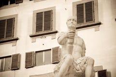 Statue Bande Nere, Florenz Stockfotografie