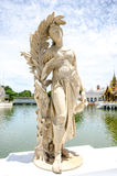 Statue at Bang Pa-In Palace ,Ayutthaya , Thailand Stock Photo