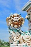 Statue in Bang-Pa-In Palace Royalty Free Stock Image