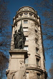 Statue barcelona Stock Photography