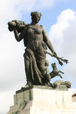 Statue in Barcelona. Spain Royalty Free Stock Photo