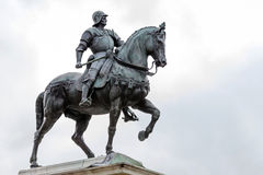 Statue of Bartolomeo Colleoni Royalty Free Stock Photos