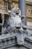 Statue, Basilica of Fourviere, Lyon, France Stock Image
