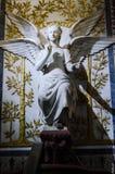 Statue, Basilica of Fourviere Stock Photo
