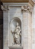 Statue in the Basilica of St. Peter, Vatican. City Stock Image