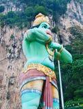 Statue  at Batu caves, Kuala-Lumpur, Malaysia Royalty Free Stock Image