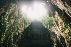 Statue in Batu Caves, Kuala Lumpur Royalty Free Stock Image