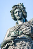 Statue of bavaria Royalty Free Stock Photography