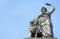 Statue of bavaria Royalty Free Stock Images