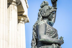 Statue of bavaria Stock Images