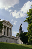 The statue Bavaria of Munich in Bavaria Stock Image