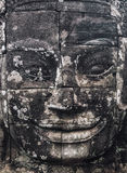 Statue Bayon Temple Angkor Thom, Cambodia. Ancient Khmer archite. Cture Stock Photography