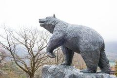The statue bears. Stock Photo