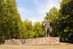 Statue of belarusian writer Janka Kupala Royalty Free Stock Image