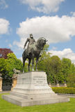 Statue of Belgian King Leopold II Royalty Free Stock Photo