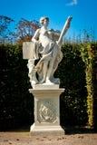 Statue in Belvedere Garden Stock Images
