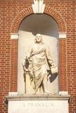 Statue of Benjamin Franklin Royalty Free Stock Image