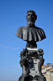 Statue of Benvenuto Cellini, Old Bridge, Florence Stock Photo