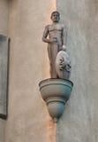 Statue in Berehove, Ukraine Stock Image