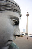 Statue in Berlin Lizenzfreie Stockfotografie