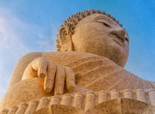 Statue of Big Buddha Royalty Free Stock Photography