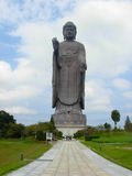 A statue of big Buddha in Ushiku Stock Images