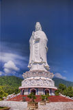The statue. The big statue on moutain Royalty Free Stock Image