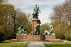 Statue of Bismarck Royalty Free Stock Photography