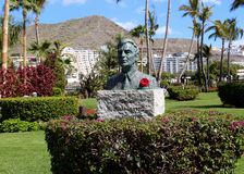Statue of Bjorn Lyng in Anfi Del Mar - Gran Canaria, Spain Stock Photos