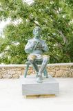 Statue of Blaz Baromic, Vrbnik, Krk, Croatia Stock Image